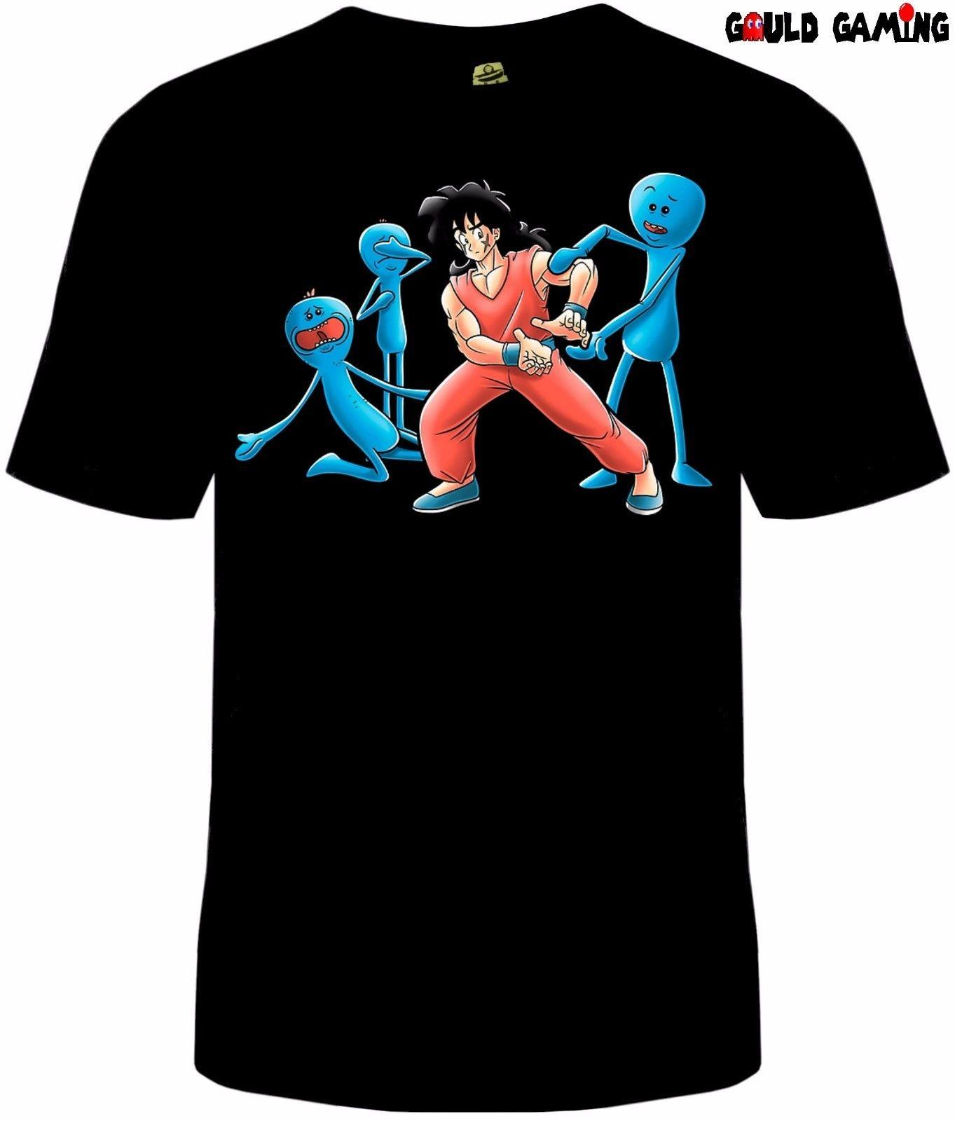 a1cf32950db5 Rick And Morty Mr. Meeseeks Dragon Ball Z Funny TV Unisex T Shirt Yamcha Ot  Shirts Best Designer T Shirts From Marcusdover