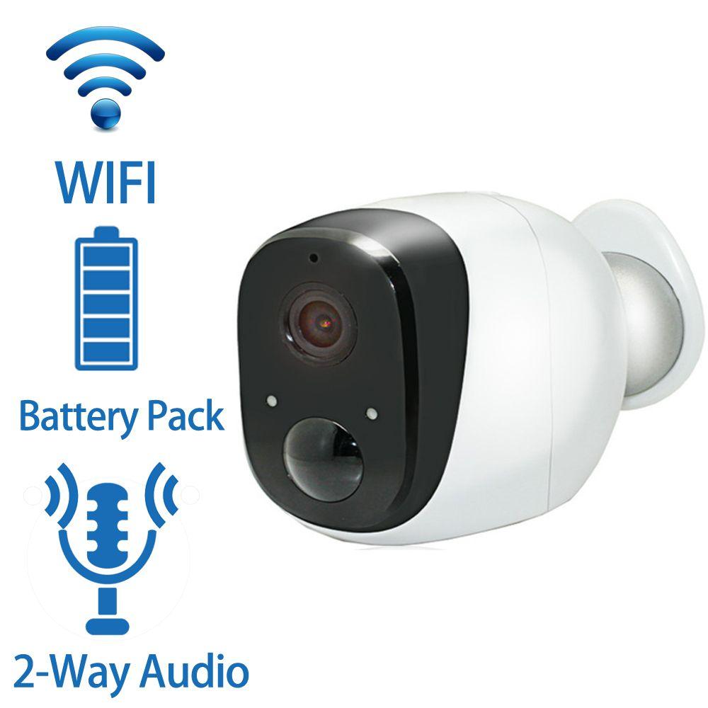 Wireless Battery IP Camera 720P HD Weatherproof Outdoor Home ...