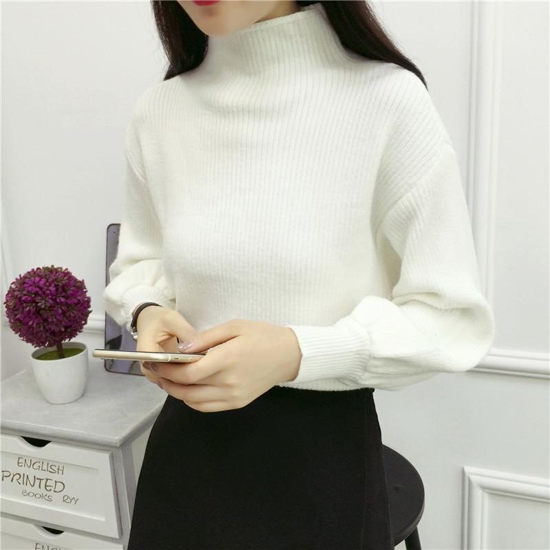 2019 New Winter Women Sweaters Fashion Turtleneck Batwing Sleeve Pullovers  Loose Knitted Sweaters Female Jumper Tops Online with  45.48 Piece on  Feeling07 s ... 80aa5479e