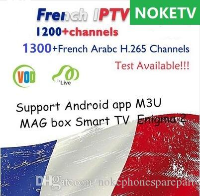 NOKETV IPTV Support Android tv Box M3U Smart tv with Arabic Sports Italy UK  Germany 1300 Europe IPTV Arabic Iptv Channels Streaming