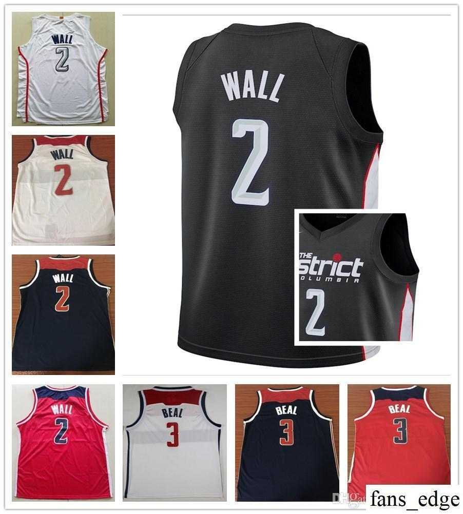 6eb0b433f ... online shopping promall philippines bd3b1 dbd33  italy 2018 2019 new  city edition black 2 john wall jerseys basketball white red navy blue