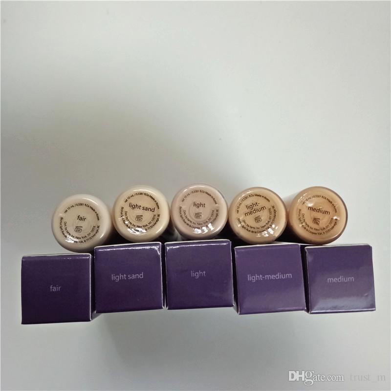 Em estoque !!! Qualidade superior! Forma de fita corretivo 5 cores maquiagem cara corretivo justo / luz / luz médio / luz areia / médio frete grátis