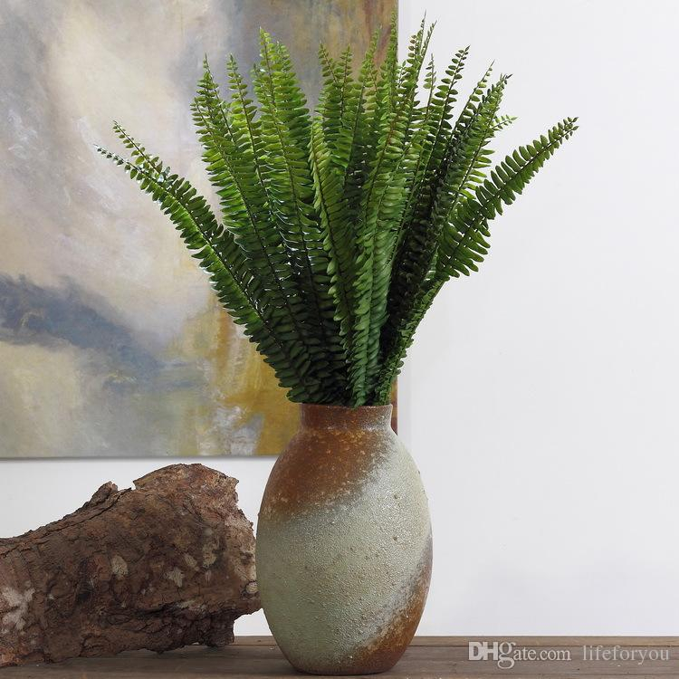 1 Pack Artificial Plants Wedding Decorations Birthday Party Home Decor Indoor Decoration Green Plant Persian Grass Leaves Room Decorating