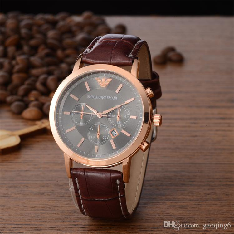 7ca67b8e60b Relogio Masculino Mens Watches Luxury Wist Fashion Black Dial With ...
