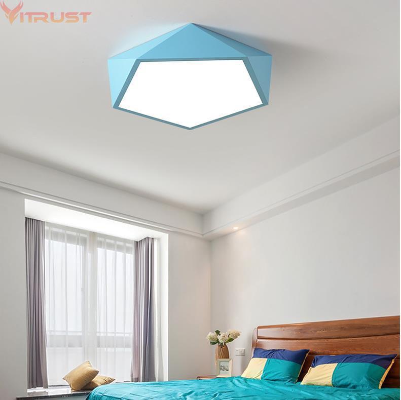 Superbe Großhandel Vitrust Nordic Deckenleuchten Lampen Macarons Acryl Home  Beleuchtung LED Lampe Schlafzimmer Esszimmer Kinderzimmer Fernbedienung Von  Hogon, ...