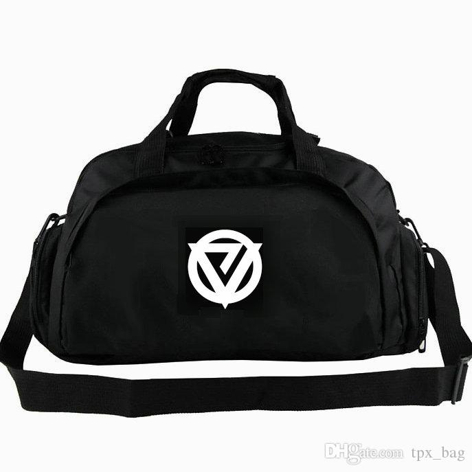 Eiasn duffel bag Top Hardstyle tote DJ 2 way use backpack Music luggage Trip shoulder duffle Sport sling pack