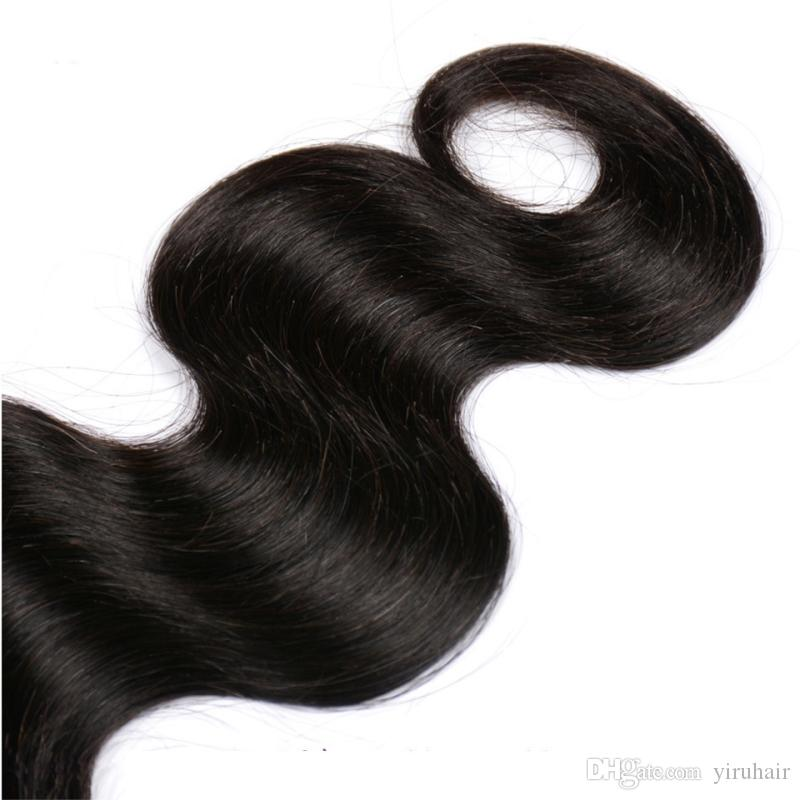 Brazilian Human Hair Wholesale Price Body Wave Straight Hair Lace Closure 4X4 Closure Hair Extensions 8-20 Inch