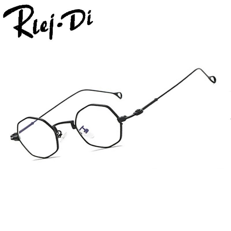 e95ab40455e6c Compre BB110 Vintage Óculos De Armação Mulheres Homens Titânio Armação  Redonda Óculos De Computador Oculos De Sol De Wonderline2