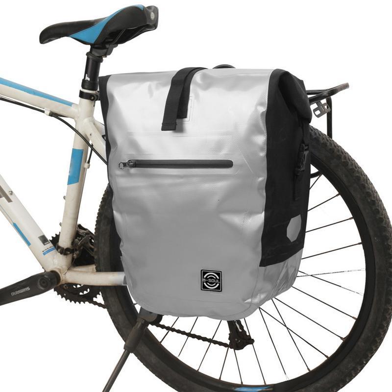 73700d6b069 Compre LACYIE Impermeable Bicicleta Sillín De Bicicletas Mini Cola Cola Trasera  Bolsa De Almacenamiento De Asiento Portátil Bicicleta De Montaña Al Aire ...