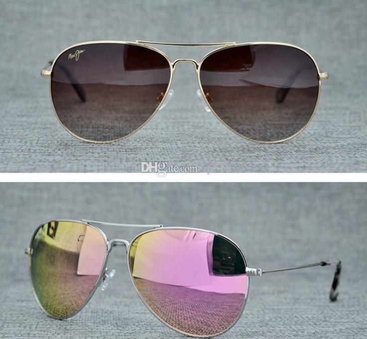a9da17617e New Brand Maui Jim 264 Sunglasses Polarized Lens Sun Glasses MJ264 Polarized  Sunglasses Men Women MJ Sports Super Light Glasses For Driving Sunglasses  Frame ...