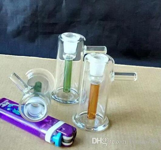 Cam filtre Nargile Nargile [küçük el], toptan cam bong, renk rastgele teslimat, ücretsiz kargo, büyük daha iyi