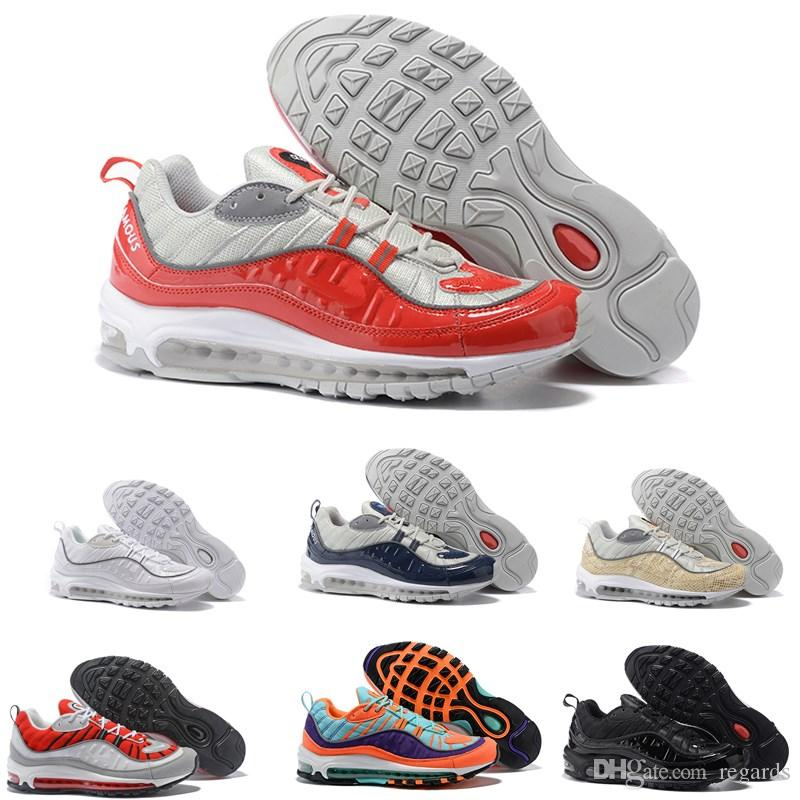 54740bd89441 2019 Mens 98 Gundam X OG Blue Black Men Running Shoes Joint Limited Sneakers  Sports Shoe Fashion Racing Runner Men Women Personality Trainer From Regards