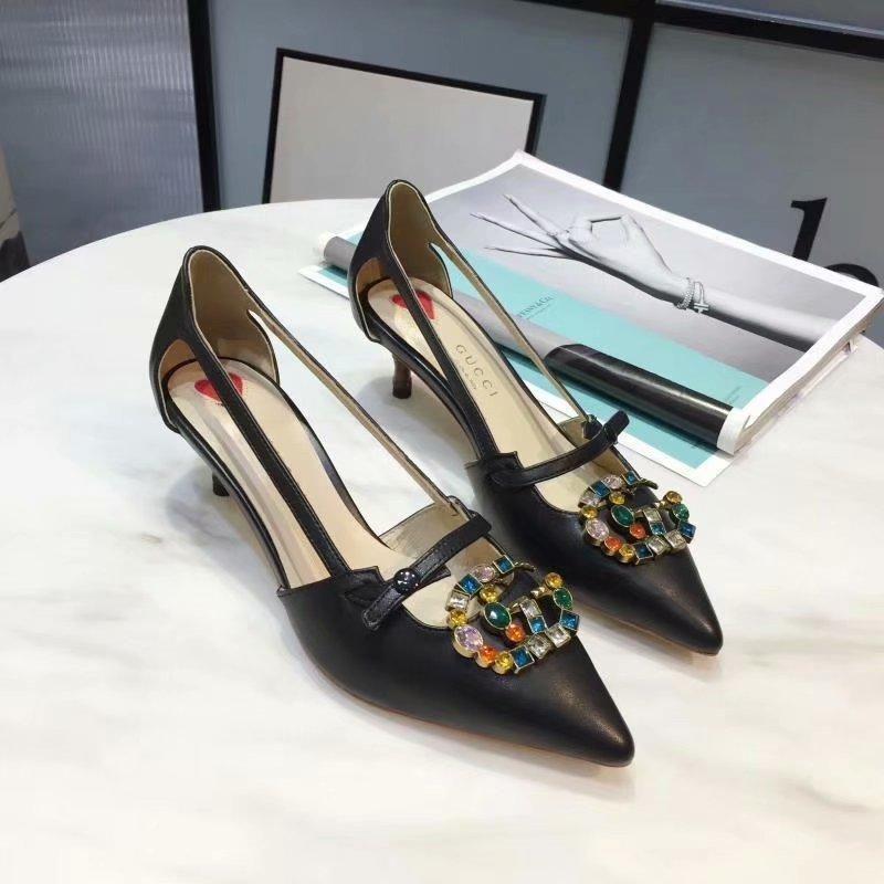 26ab97944 New 2018 Womens Sexy Bottom Brand Designer Spiked Ladies High Heels ...