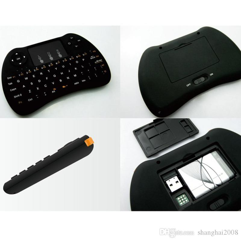 2018 neue drahtlose Maus 2.4G Wireless Keyboard Mini H9 Tastatur und Maus für kostenlose tv Android Box X96 Mini Xbox Box Spiel Box