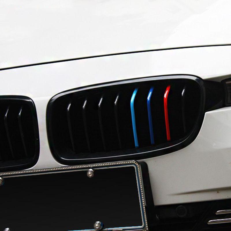 Auto Aufkleber Nierengitter Aufkleber Aufkleber Sport Streifen 3 Farben Auto Aufkleber Für BMW Serie Streifen Autos Styling Zubehör