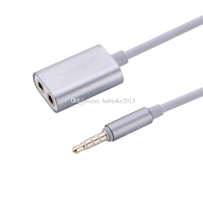 Audio Kabel Splitter 1 Stecker auf 2 weiblich Audio Kopfhörer Splitter Adapter 3,5 mm Doppel Klinke Splitter Kabel für iPod iPhone 7 6 5 Mp3 Mp