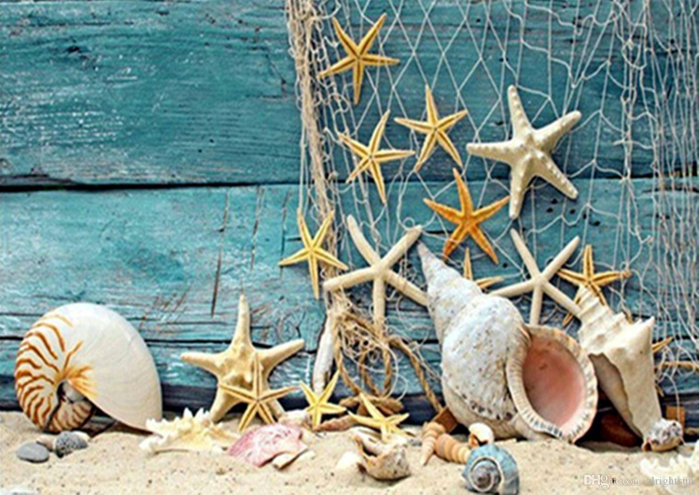 Satın Al Deniz Yıldız Desen 5d Elmas Nakış Diy Tam Elmas Boyama