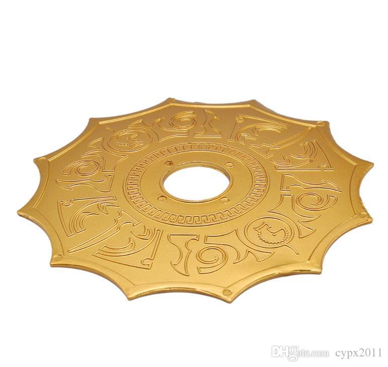 Hookah fittings, aluminum plate, Arabia tobacco pot tray, hookah carbon dish.