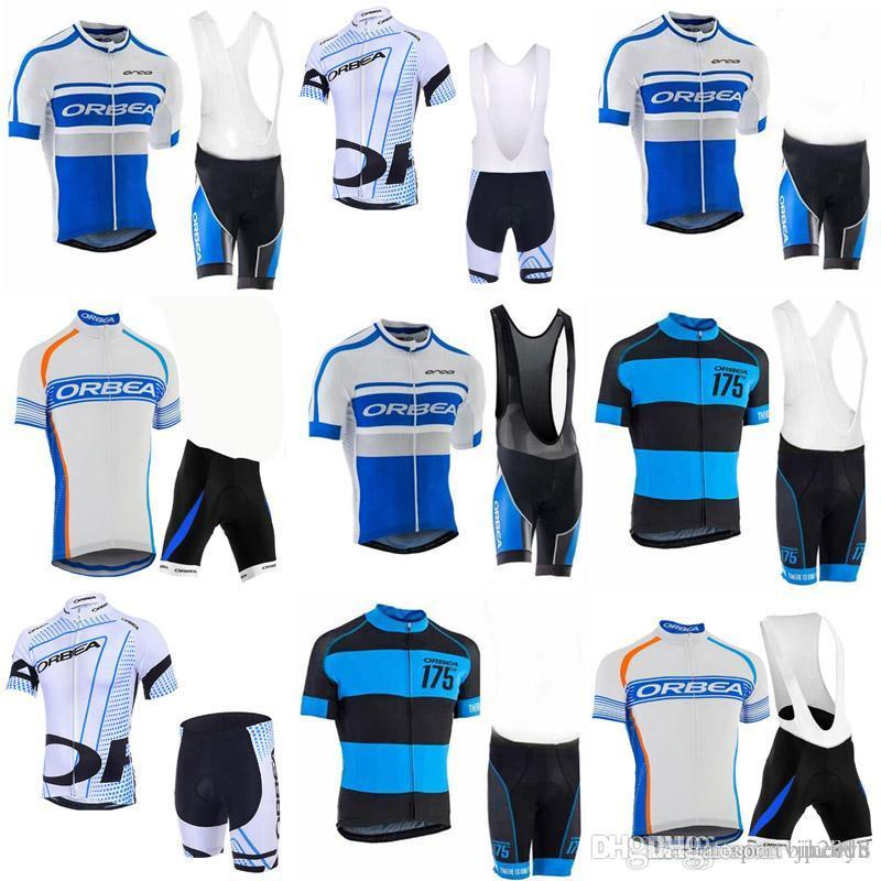 7c1e491af ORBEA Team Cycling Short Sleeves Jersey Bib Shorts Sets Men S Outdoor  Bicycle Sportswear Short Sleeved Suit Mountain Bike Suit C3009 Cycling Jersey  Sale ...