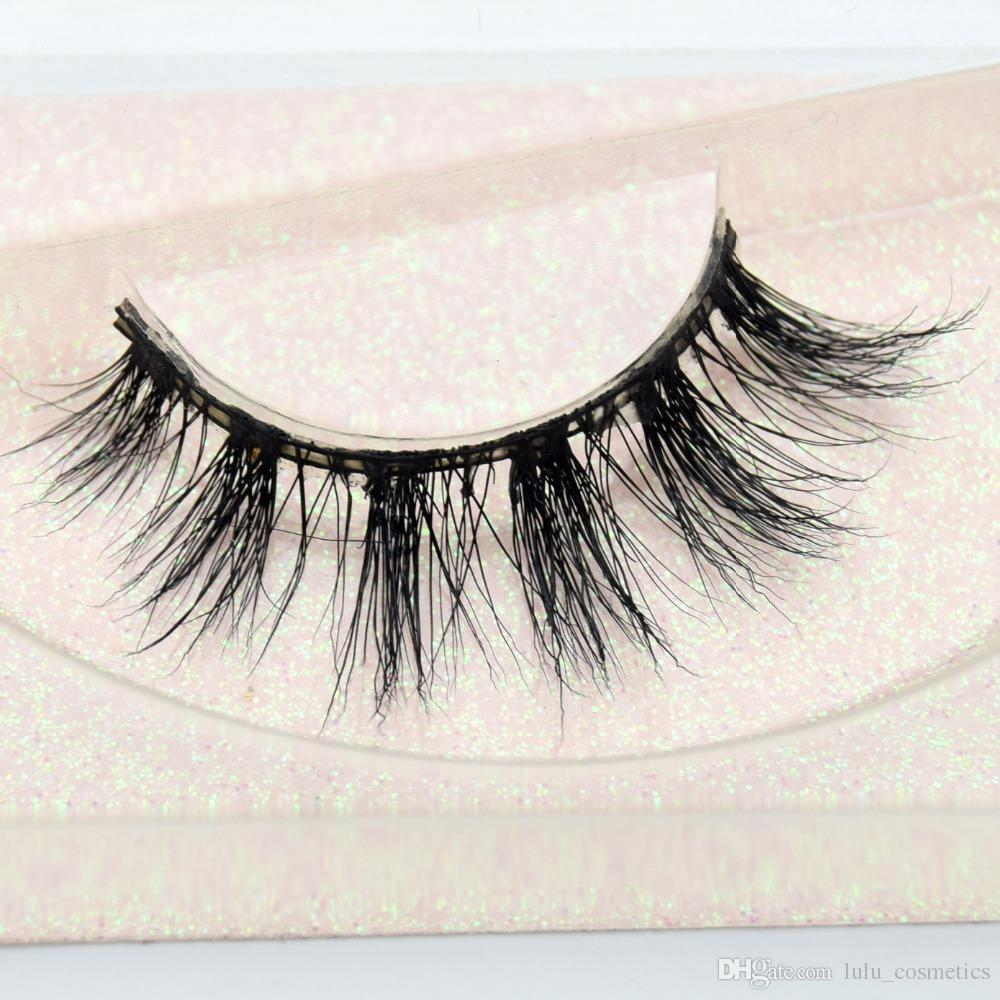 76bcd67a0d8 High Quality Hand Made Faux Mink Lashes 3D Mink Eyelashes Accept Customized  Logo 3d Mink Eyelash Extension E13 Kiss Eyelashes Kiss Lashes From ...
