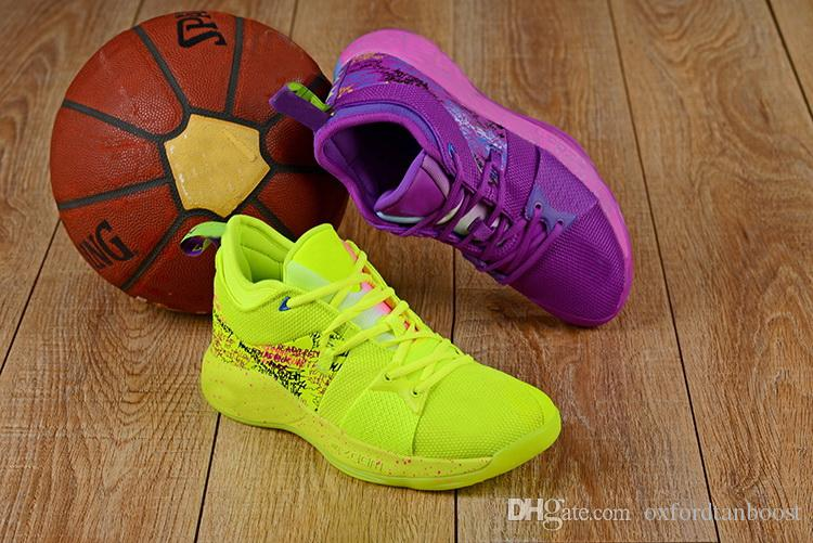 e648fde1b750c0 Mens PG2 Paul George II What The Confetti Multicolor Basketball Shoes Kevin  Durant KD 10 X 4 IV Sports Sneakers 7 12 NO BOX Sneakers On Sale East Bay  Shoes ...
