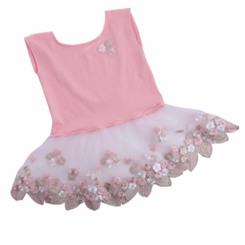 b7c24da79 2019 Newborn Baby Girls Tulle Embroidery Flower Dress Photography ...