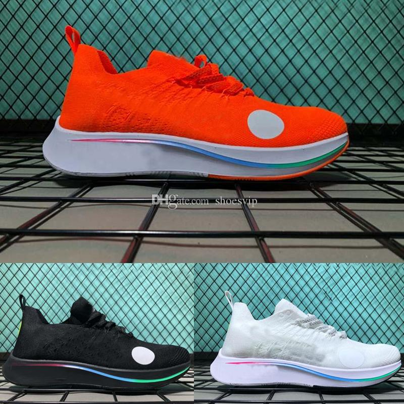 e3c13b7287 2018 World Cup X Zoom Fly Mercurial Women Men Foam Fk Off Ow Ao2115 R20  Orange Black White Running Shoes Knitting Sneakers Jogging Shoes Black  Running Shoes ...