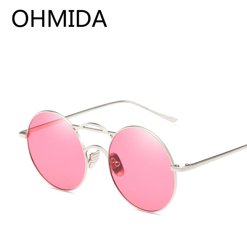 1712fa7a61 Wholesale New Fashion Vintage Round Sunglasses For Women Pink Blue ...