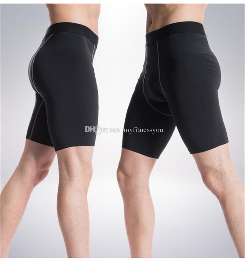 Yeni Marka Erkek Spor Salonu Jogging Yapan Kısa Pantolon Koşu Şort Hızlı kuru Sıkıştırma Giyim Sıkı Aşınma Bisiklet İç Artı Boyutu XXXL