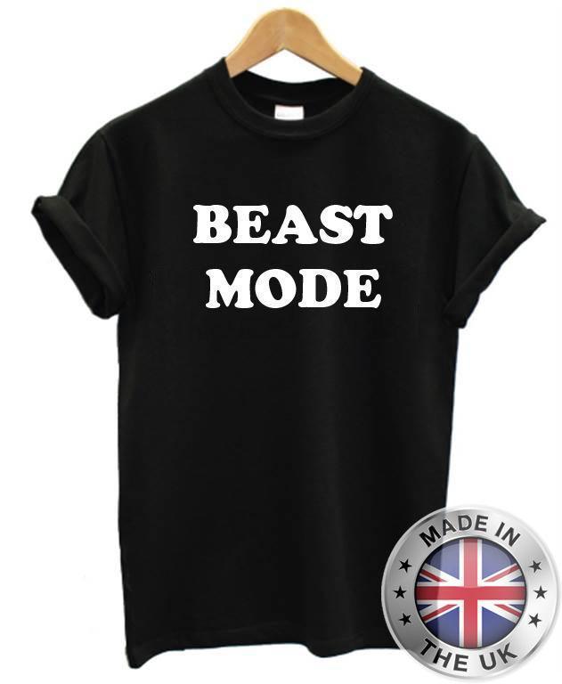 8e21beb76470ba Großhandel Beast Mode T Shirt S Xxl Schwarz Lustige Gedruckte Witz Mens  Training Gym Workout Von Liguo01