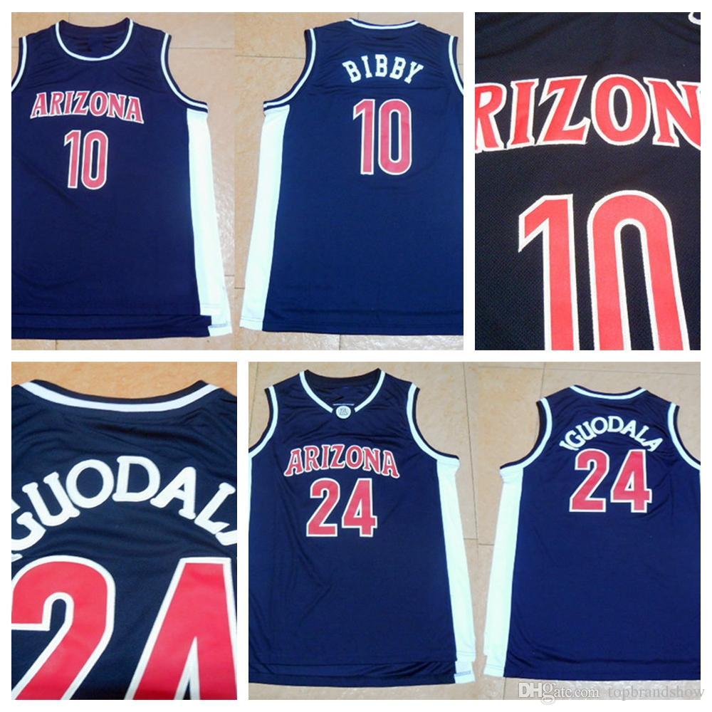 ... uk arizona wildcats college basketball jersey 10 mike bibby jersey  university 24 andre iguodala jersey f0b27 036076797