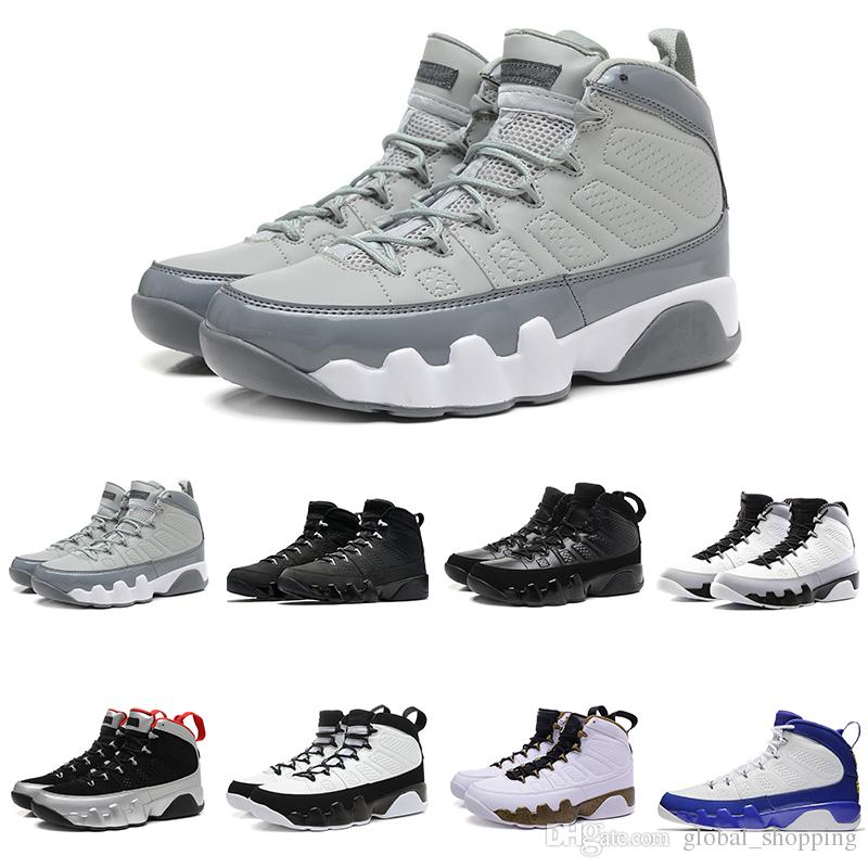 best authentic cb1c6 f2db4 New Mens Basketball Shoes 9 9s Anthracite Barons The Spirit Doernbecher  Release Countdown Pack Athletics Sneakers size 7-13