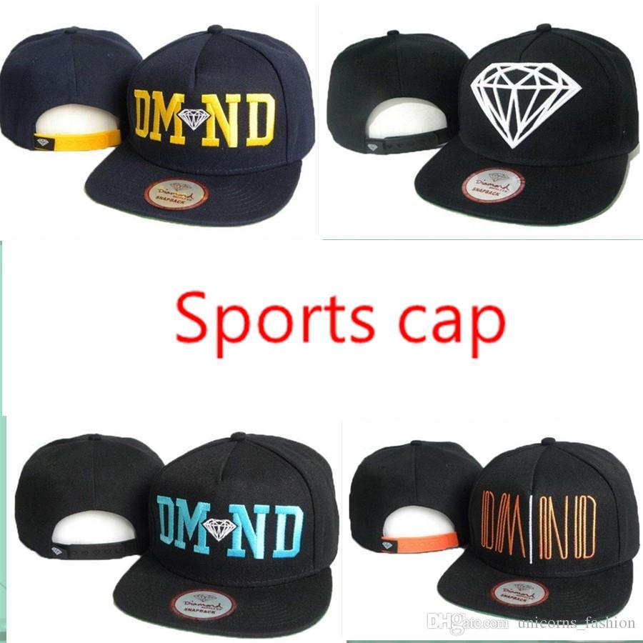 Snapback Hats Diamond Custom Hats Caps Snapback Cool Hats Hip Hop Caps Men  Hot CNY816 Flat Brim Hats Baby Cap From Unicorns fashion 64677b8b610