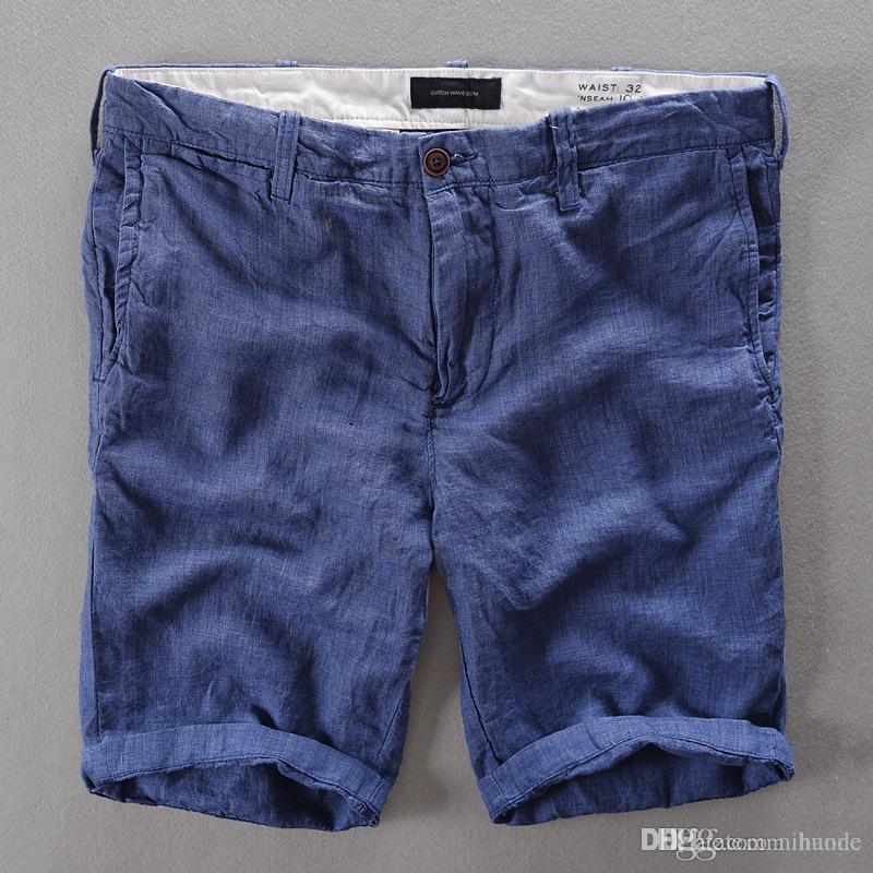 6f36d402eb Wholesale- French Casual Mens Shorts Brand Short Pants Men Fashion ...