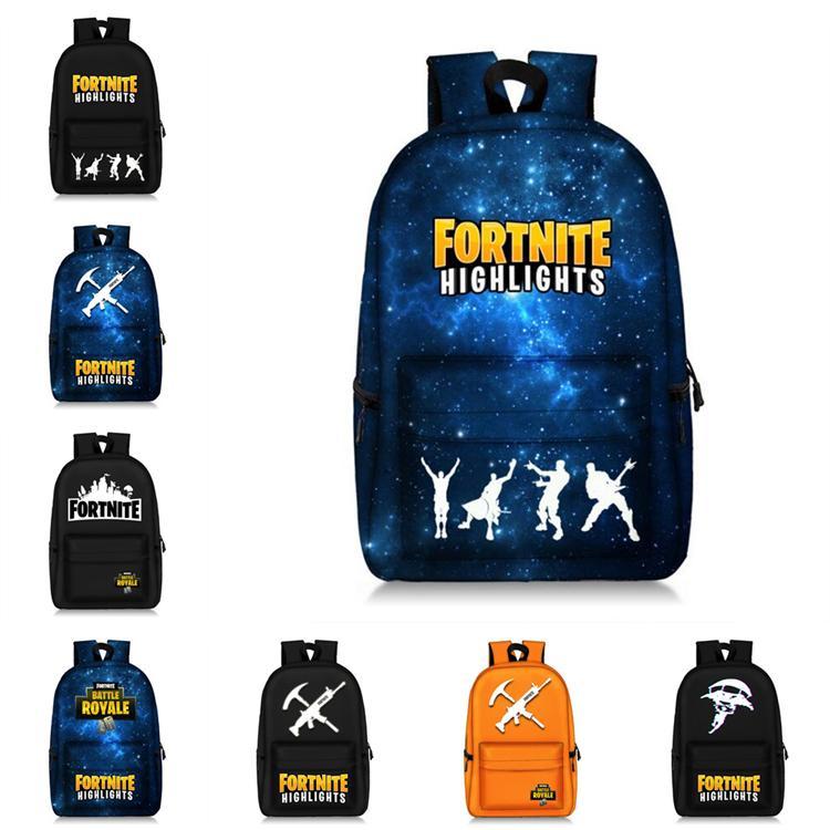 Fortnite Zaini 8 Disegni 28 14 47cm Fortnite Stampati Big Kids Zaini Studenti Ragazze Fortnite Battle Royale Schoolbag La853