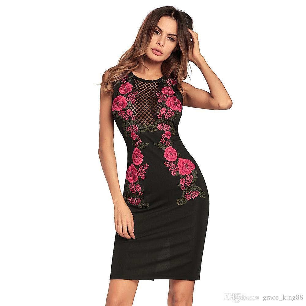 Vestiti Da Donna Eleganti.Acquista Vestito Da Bodycon Elegante Di Clubwear Da Donna Elegante