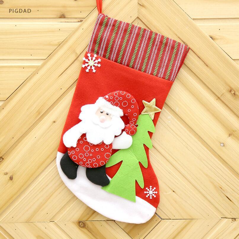 Großhandel Weihnachtssocken Weihnachtsmann Süßigkeits Geschenk ...