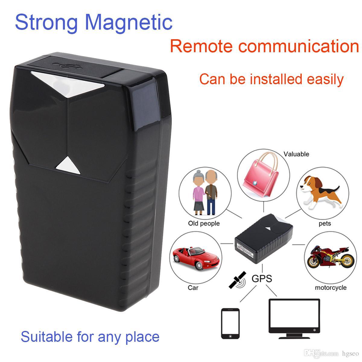 Dispositivo GT001 Mini localizador del vehículo del coche sistema de seguimiento en tiempo real Magnetic Tracker GPS localizador GPS apropiado para los niños GPS_103 mascotas