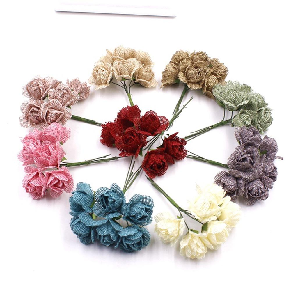 2018 35cm Artificial Flowers Roses Silk Flower Simulation Diy