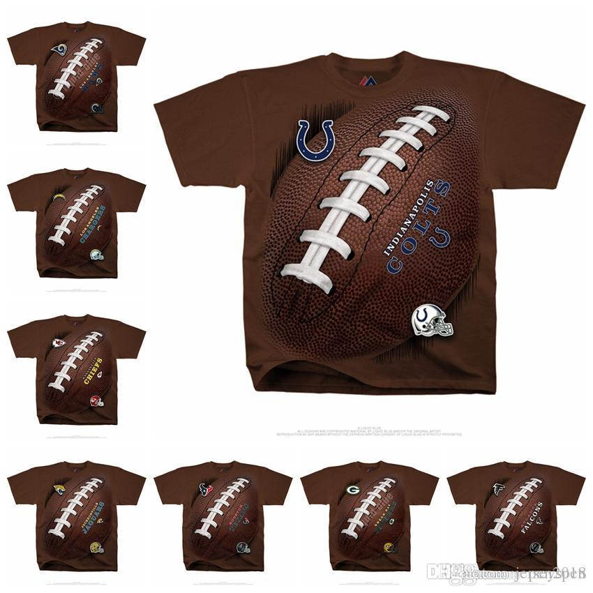 3830ad0e9 2019 Men Los Angeles Rams Los Angeles Chargers Kansas City Chiefs  Jacksonville Jaguars Indianapolis Colts Houston Texans Kickoff Tie Dye T  Shirt From ...