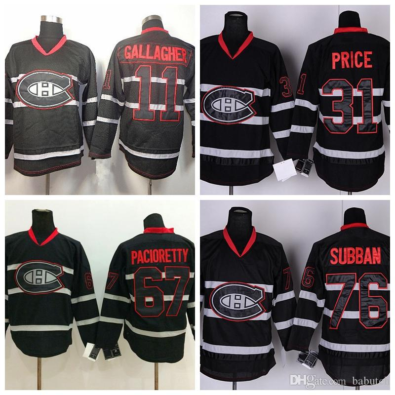 separation shoes 3d4eb 23dea Montreal Canadiens Winter Classic Jerseys Hockey 11 Brendan Gallagher 31  Carey Price 76 P.K. Subban 67 Max Pacioretty Blank Jerseys Stitched