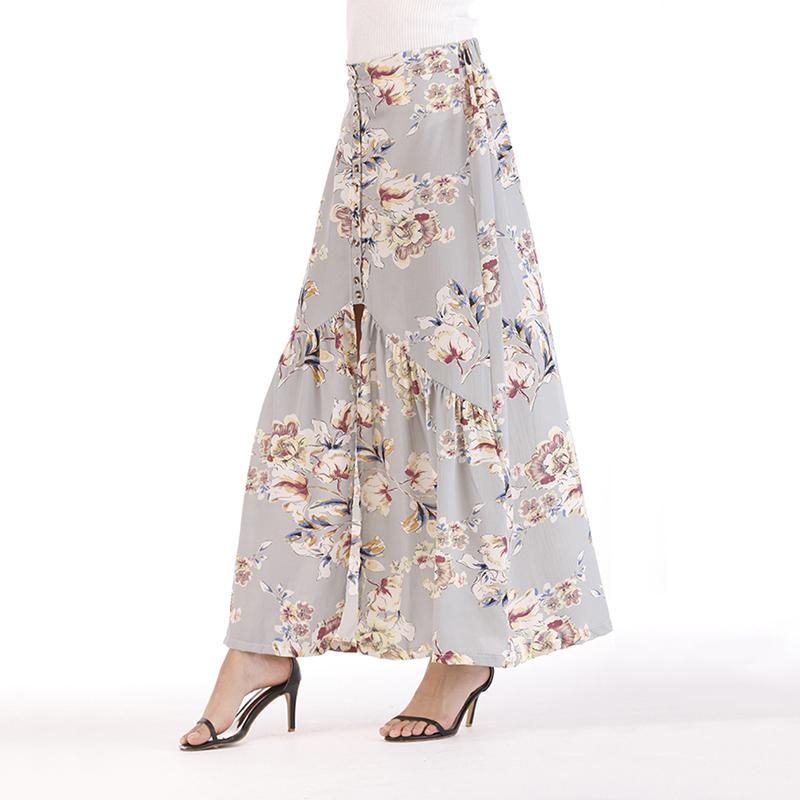 5e5aa11eb 2019 Good Quality Floral Print Long Skirts Women Summer Elegant Beach Maxi  Skirt Boho High Waist Pleated Long Skirt From Jincaile08, $27.95 |  DHgate.Com