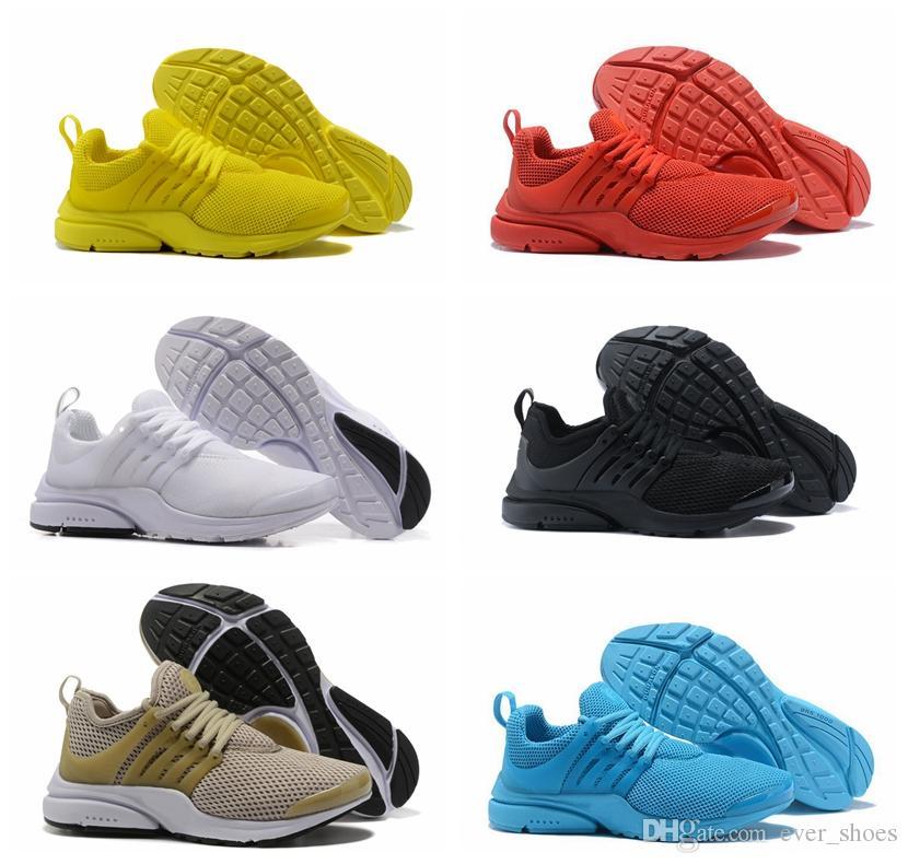 wholesale dealer e3d4c dc723 New Presto Fly BR QS Running Shoes Women Men Mesh Designer Air Casual  Fashion Brand Mens Sports Sneakers Prestos Chaussures 36-45
