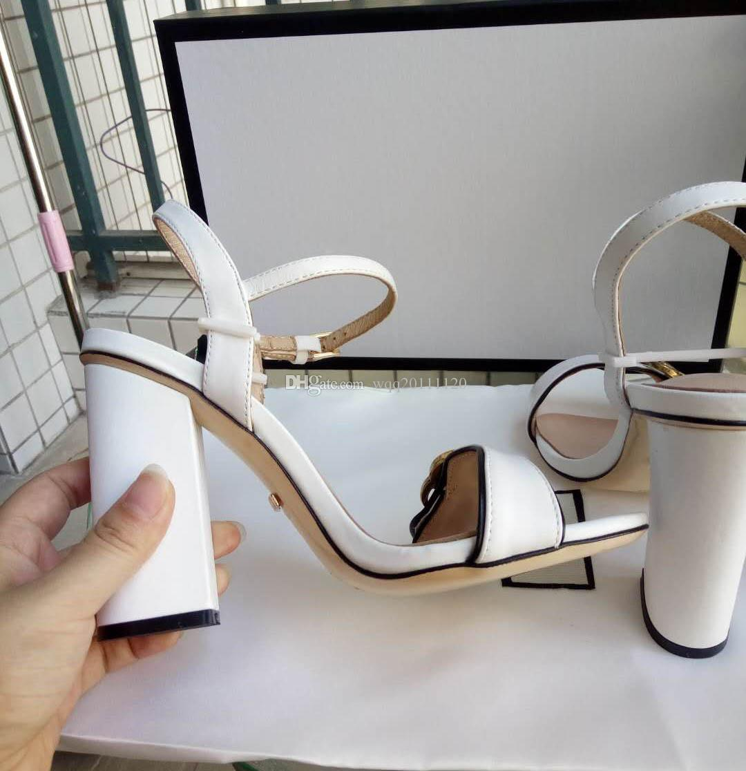 New Arrivals 2018 Patent Leather Thrill Heels Women Unique Designer Pointed toe Dress Wedding Shoes Sexy shoes Letters heel Sandals