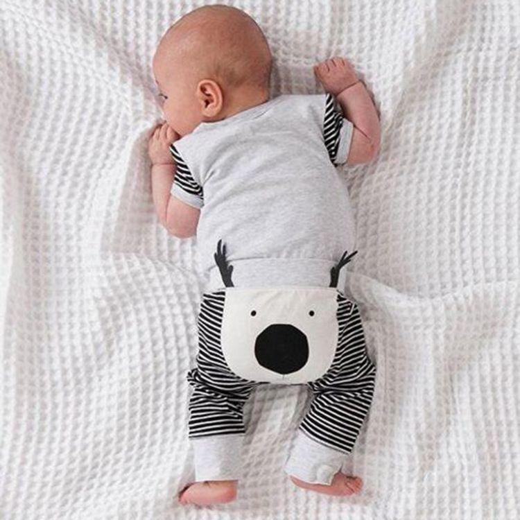Toddler Kids Harem Pants Baby Boys Girls Animal Pattern Leggings