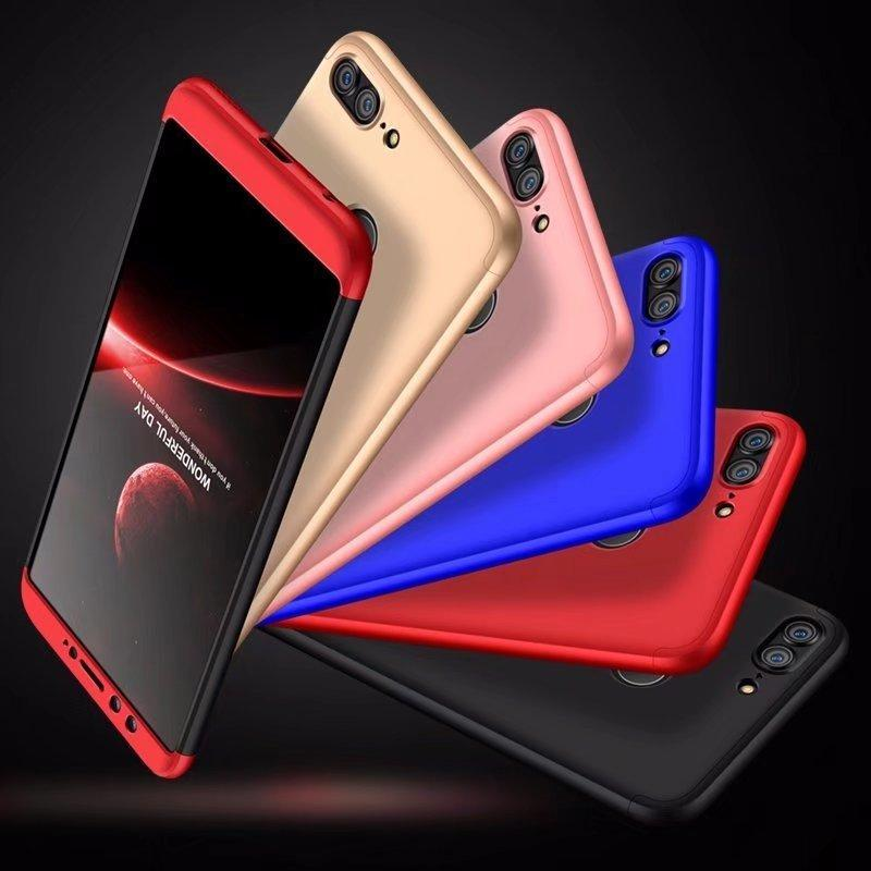 online here release date special section Pour Huawei P20 P20 Pro P10 P9 Coque Mate 10 Mate20 Honor 9 Lite Etui  rigide 3 en 1 Mat Armure Hybride Coque arrière protectrice Coque complète