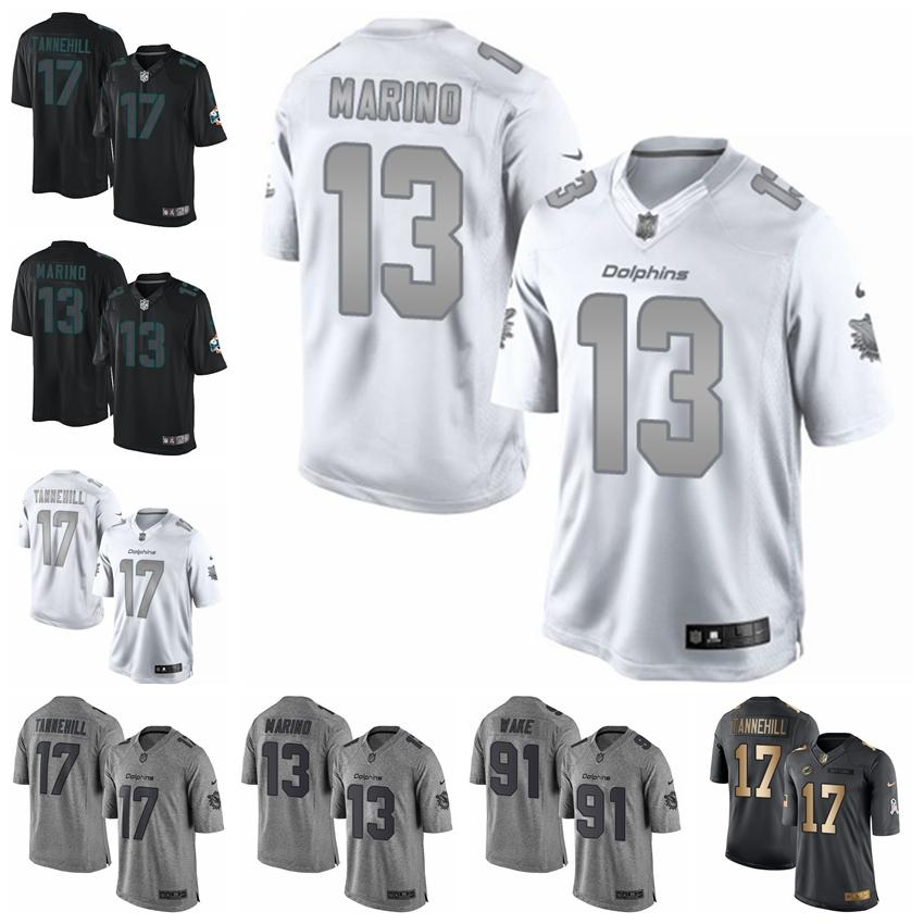 info for 9a0cd 1b0c5 Miami football jersey Dolphins Gray Gridiron White Platinum Black Impact 17  Ryan Tannehill 13 Dan Marino 21 Frank Gore