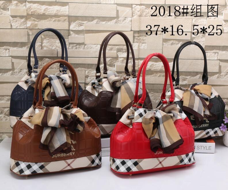 b4996e047ef Luxury Brand Burberry Ladies Shoulder Bag PU Leather Ladies Handbag Casual  Handbag Ladies Bag Luxury Designer Handbag 2019 New Online with   51.38 Piece on ...