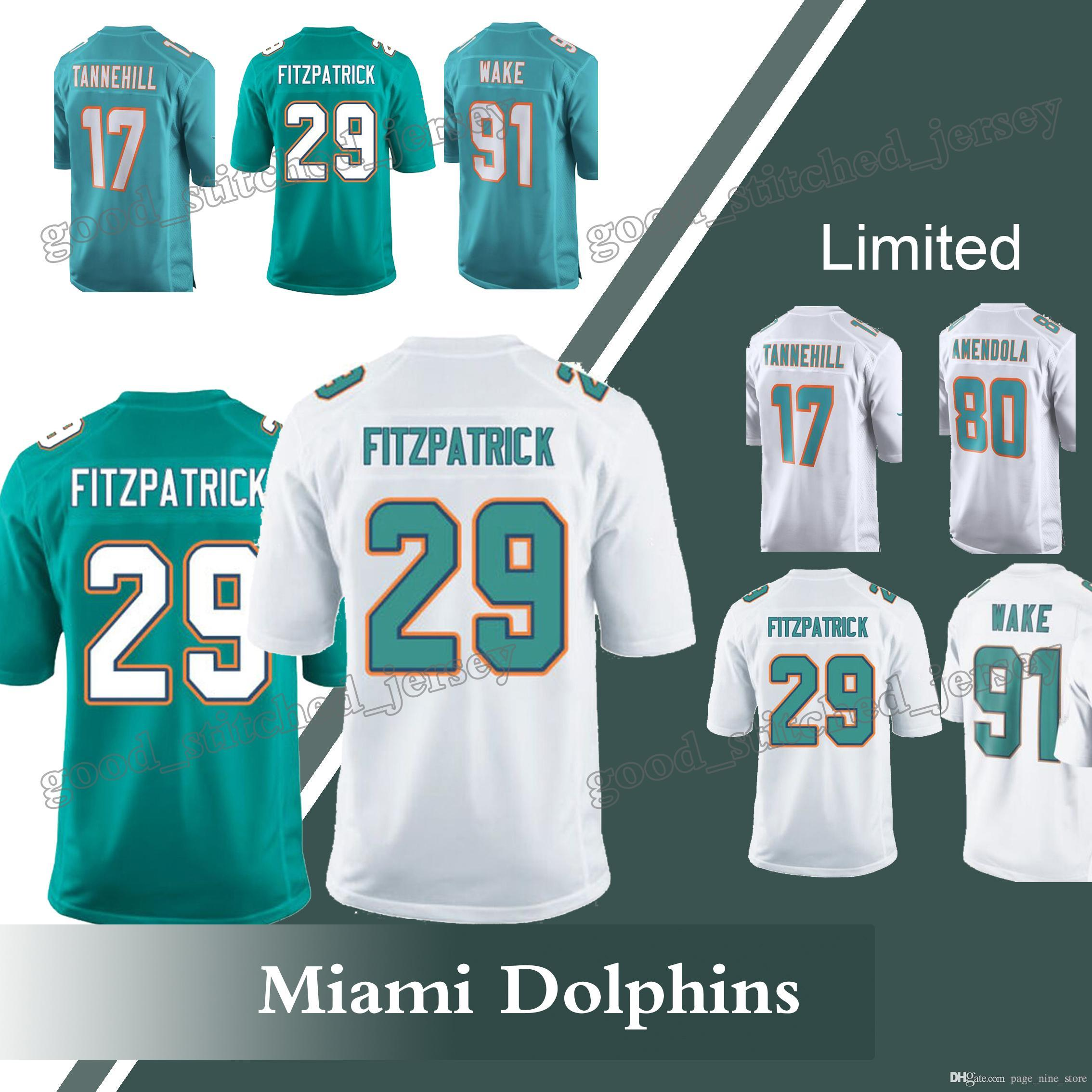 minkah fitzpatrick miami dolphins jersey