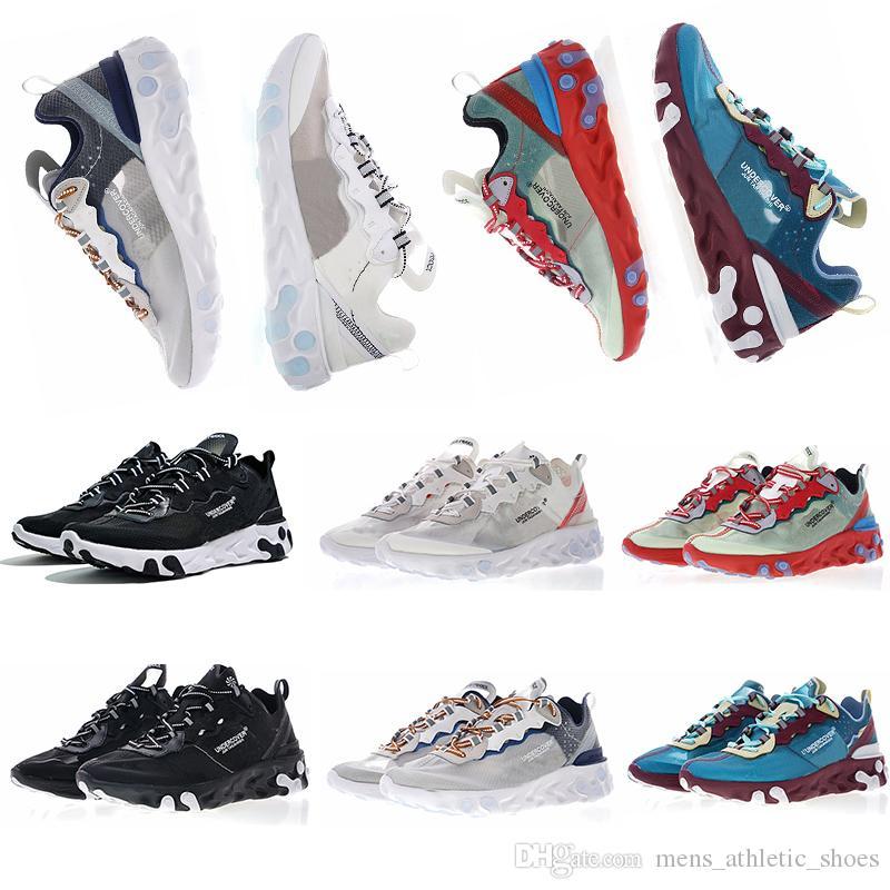 5d83a8c8d95e Compre Zapatillas De Correr Element 87 Para Mujer Para Hombre Entrenadores  De Marca De Lujo Zapatos De Diseño De Zapatillas De Deporte De Los Hombres  ...